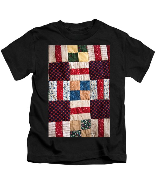 Homemade Quilt Kids T-Shirt
