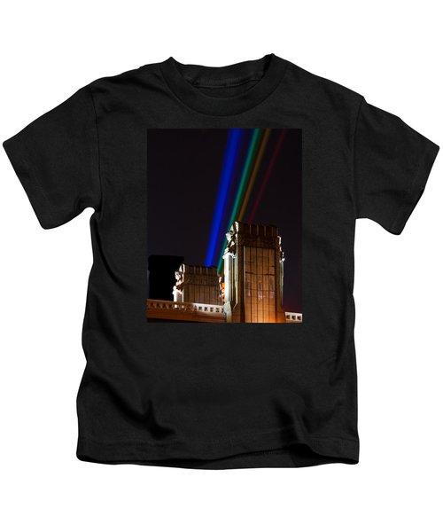 Hope Memorial Bridge, Aha Lights Kids T-Shirt