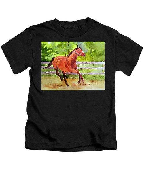 Horse #3 Kids T-Shirt
