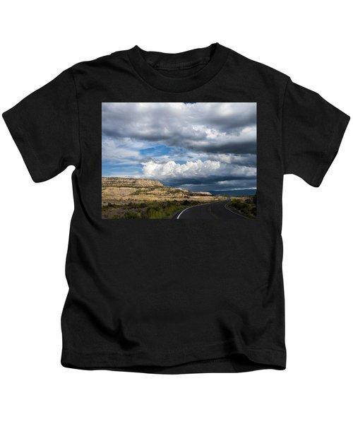 Horse Canyon By De Beque Colorado Kids T-Shirt
