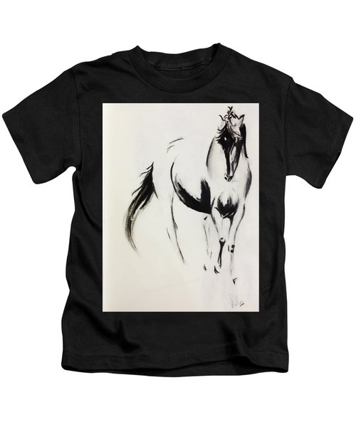 Running Horse Kids T-Shirt