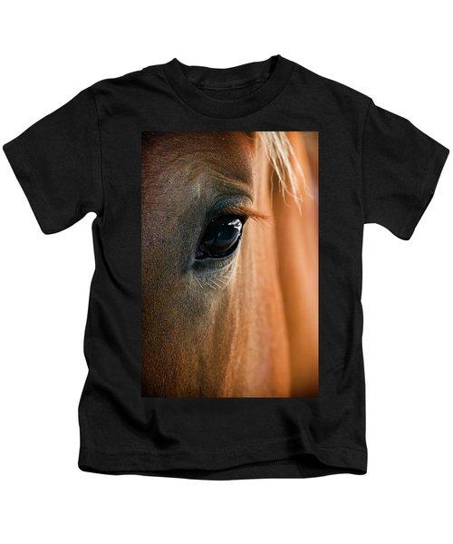 Horse Eye Kids T-Shirt