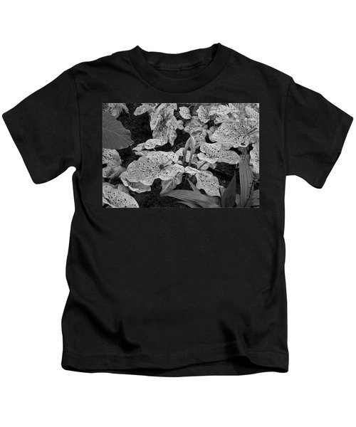 Hosta Bw - Pla363 Kids T-Shirt