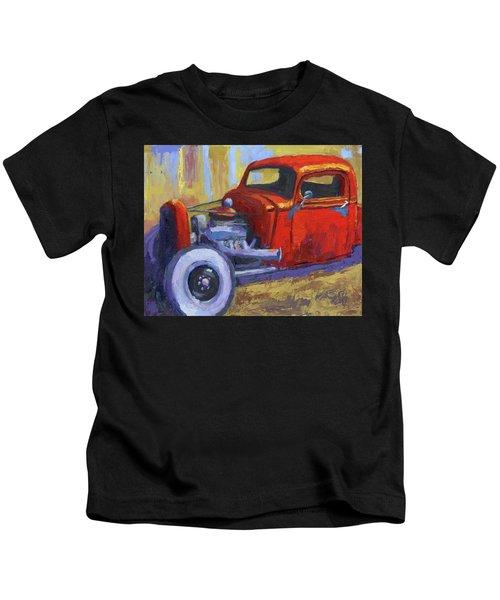 Hot Rod Chevy Truck Kids T-Shirt