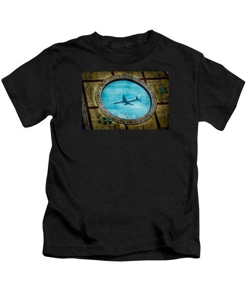Hot Tub Flight Kids T-Shirt