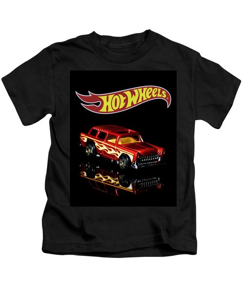 Hot Wheels '55 Chevy Nomad 2 Kids T-Shirt