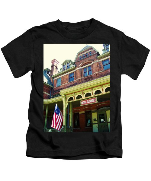 Hotel Florence Pullman National Monument Kids T-Shirt