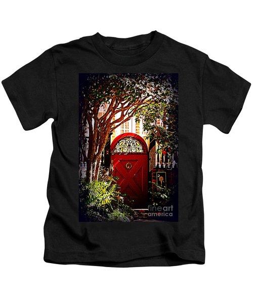 House Door 5 In Charleston Sc  Kids T-Shirt