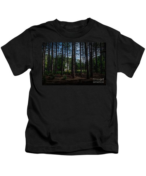 House In The Pines Kids T-Shirt