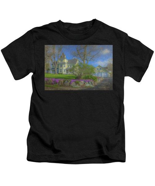 House On Elm St., Easton, Ma Kids T-Shirt