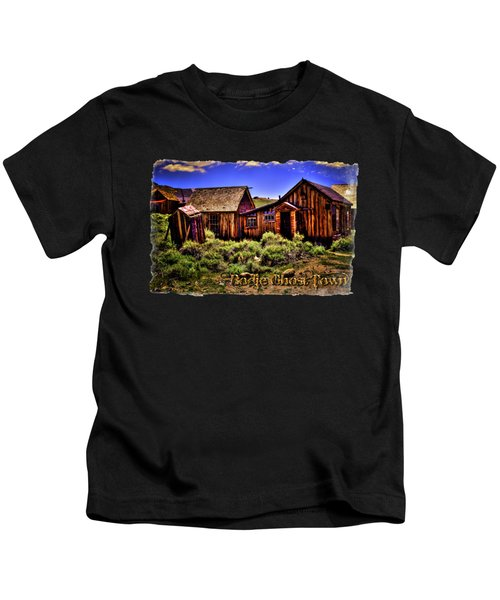 House, Shed And Outhouse Bodie Ghost Town Kids T-Shirt