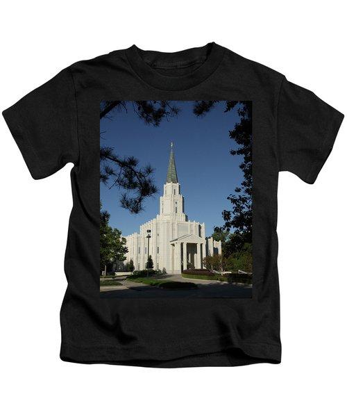 Houston Lds Temple Kids T-Shirt