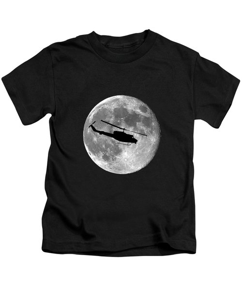 Huey Moon .png Kids T-Shirt by Al Powell Photography USA