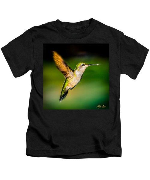 Hummingbird Sparkle Kids T-Shirt