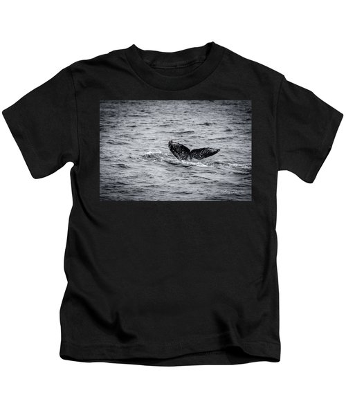 Humpback Whale Tail Kids T-Shirt