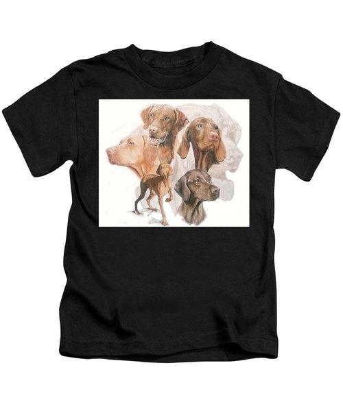 Hungarian Vizsla Medley Kids T-Shirt