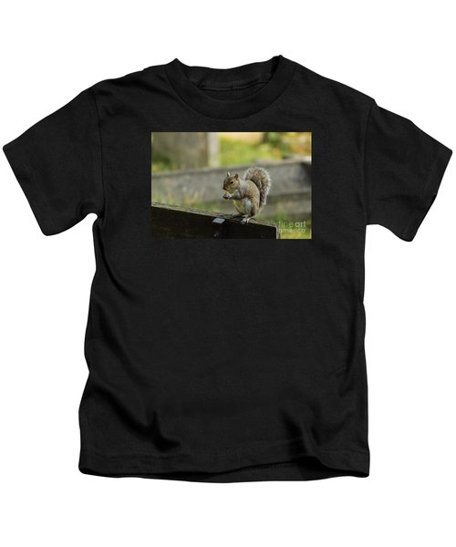 Hungry Squirrel Kids T-Shirt
