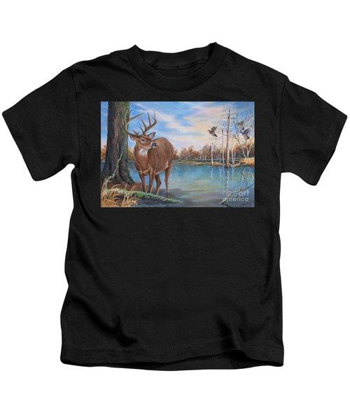 Hunters Dream Sold Kids T-Shirt