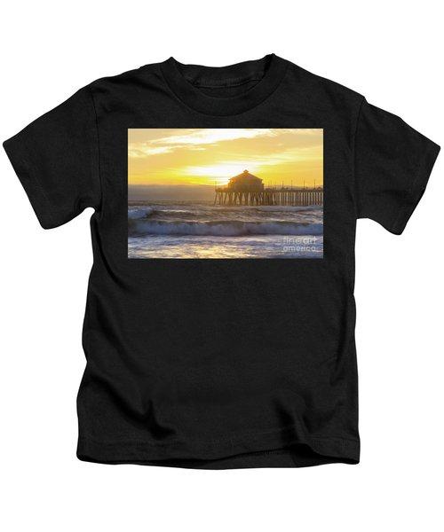 Huntington Peir 2 Kids T-Shirt