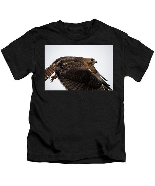 Hybrid Hawk Flyby  Kids T-Shirt