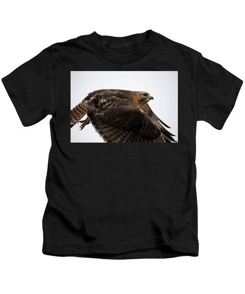 Hybrid Hawk Flyby  Kids T-Shirt