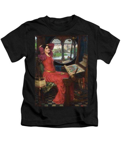 I Am Half Sick Of Shadows Said The Lady Of Shalott Kids T-Shirt