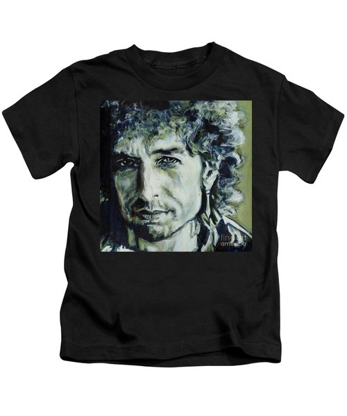I Could Hold You For A Million Years. Bob Dylan Kids T-Shirt
