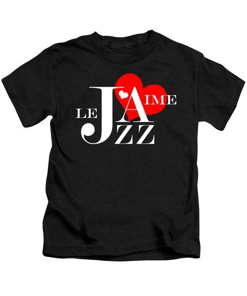 I Love Jazz Kids T-Shirt