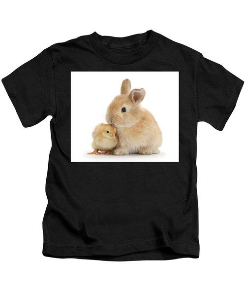 I Love To Kiss The Chicks Kids T-Shirt
