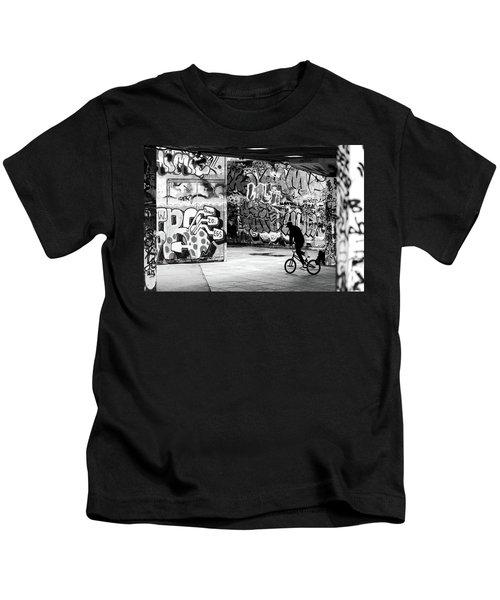 I Ride Alone Kids T-Shirt