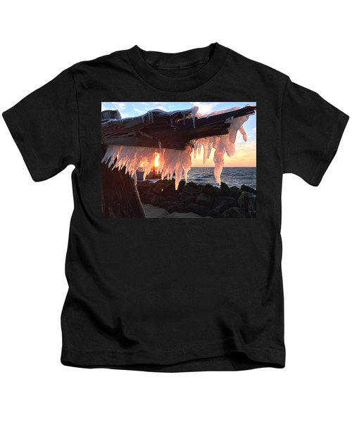 Ice Fangs Kids T-Shirt