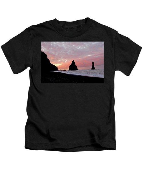 Iceland Sunrise Kids T-Shirt