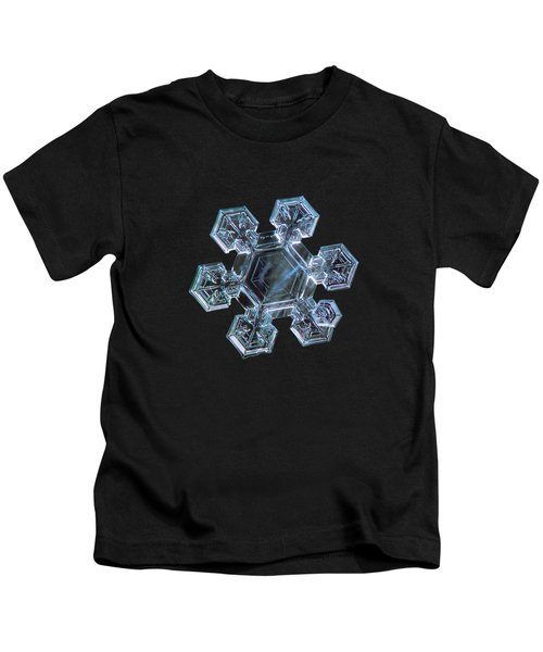 Icy Jewel, Panoramic Version Kids T-Shirt