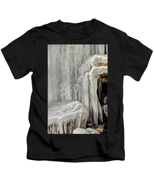 Icy Tendrils Kids T-Shirt