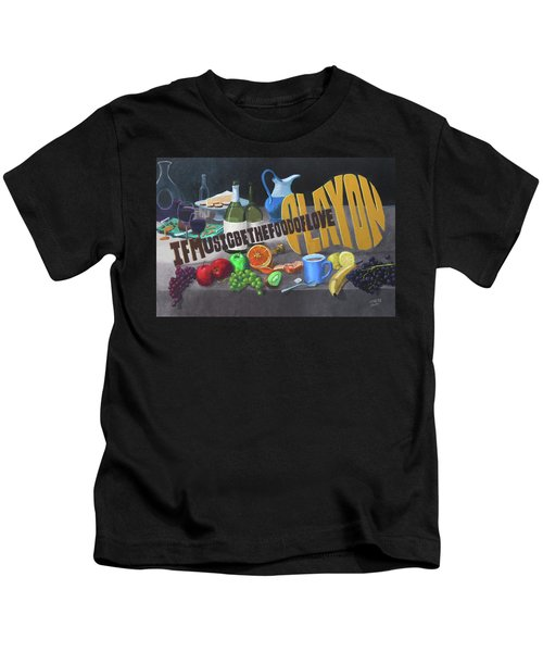 If Music Be The Food Of Love Play On Kids T-Shirt