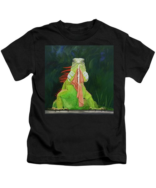 Iguana Dude Kids T-Shirt
