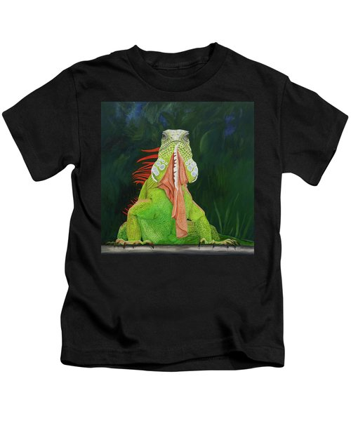 Iguana Dude Kids T-Shirt