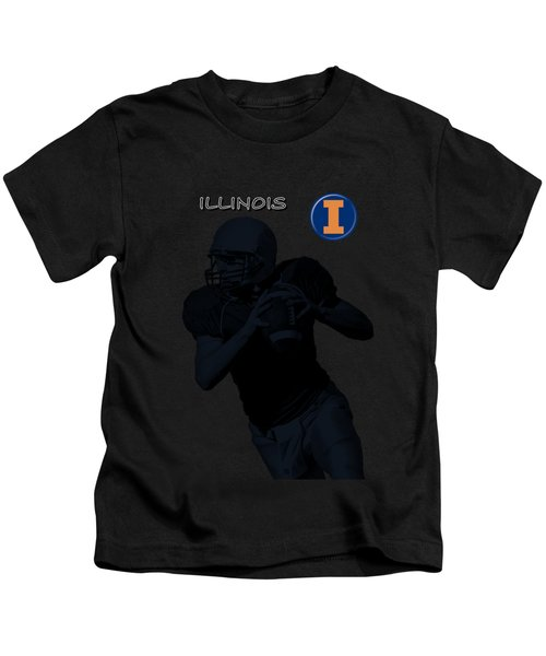 Illinois Football Kids T-Shirt