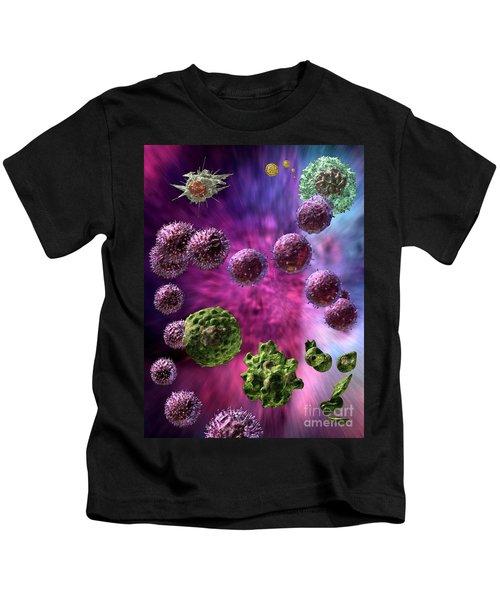 Immune Response Cytotoxic 4 Kids T-Shirt