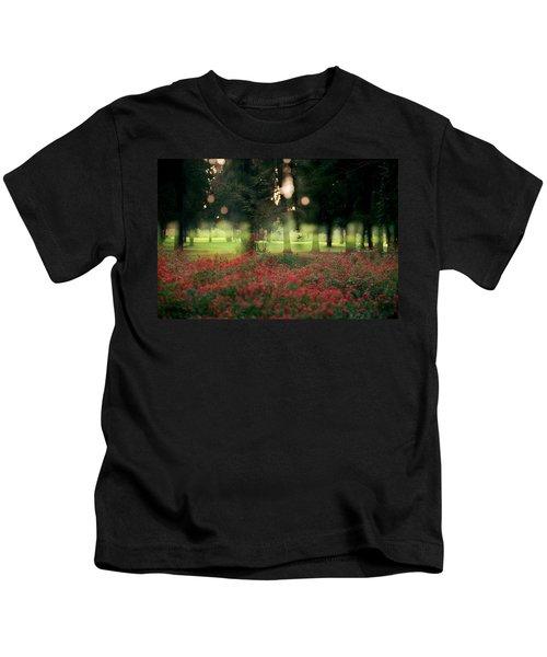 Impression At The Yarkon Park Kids T-Shirt