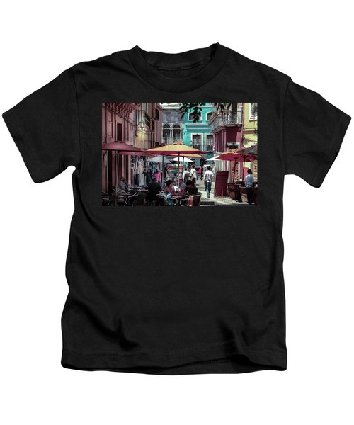 In A Little Spanish Town Kids T-Shirt