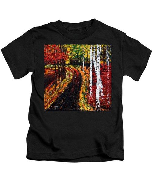 In Full Swing  Kids T-Shirt
