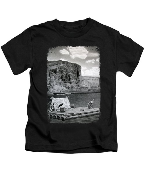 In The Grand Canyon Kids T-Shirt