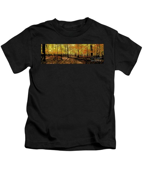 In The The Woods, Fall  Kids T-Shirt