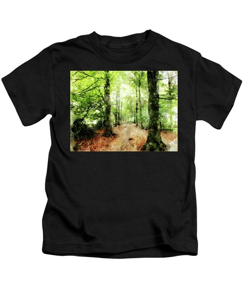 In The Wood Frame Kids T-Shirt