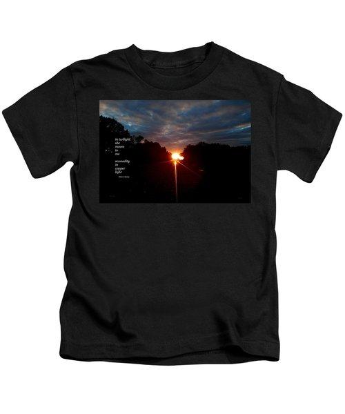 In Twilight Kids T-Shirt