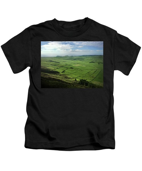 Incide The Bowl Terceira Island, Azores, Portugal Kids T-Shirt