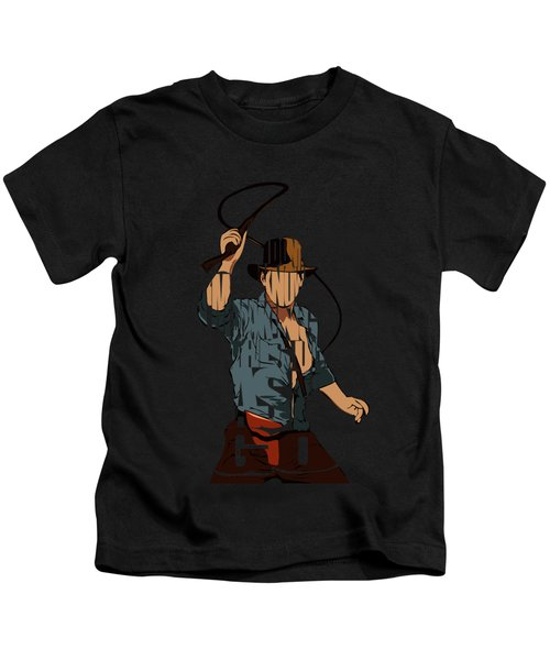 Indiana Jones - Harrison Ford Kids T-Shirt