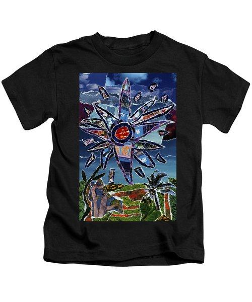 Industrial Flower Kids T-Shirt