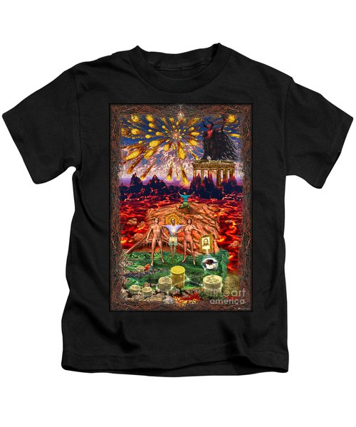Inferno Of Messages Kids T-Shirt
